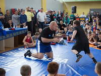 В СК «Заря» состоялся турнир по греко-римской борьбе «Кубок Единства»