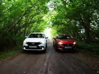 Отечественные иномарки: Сравнительный тест-драйв Lada XRAY и Lada Vesta