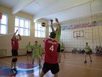 В воскресенье состоялись игры чемпионата города по волейболу