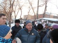 Представители «СУ-1» обсудили вопрос застройки с жителями переулка Липового