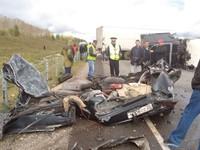 20 сентября на бийской трассе произошло смертельное ДТП