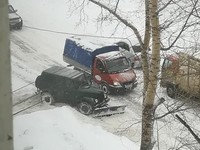 Бийск занял второе место в крае по количеству выпавшего снега