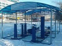Новые уличные тренажеры установлены на Петровском бульваре