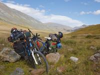 Четверо бийчан организовали 10-дневный велопоход от Кош-Агача до плато Укок и обратно