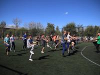 Спорт в массы: Фитнес-клуб «Апельсин» проводит открытые тренировки в школах