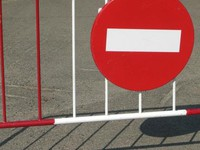 Внимание автолюбители! Ограничение движения