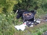 На трассе Бийск-Барнаул перевернулся автомобиль с пятью пассажирами