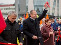 Два праздника в один день: 4 ноября в Бийске состоялось торжественное открытие Петровского бульвара