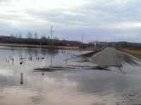 Уровень воды на реках края снижается
