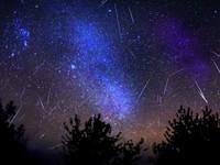 В ночь с 20 на 21 октября жители края невооруженным взглядом смогут увидеть метеоритный дождь