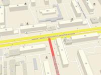 С 22 по 26 августа будет перекрыто движение через трамвайные пути ул. Васильева – пер. Омский