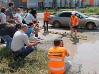 Эксперты ОНФ осмотрели проблемные дороги Бийска