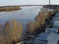 Понтонный мост возобновил свою работу