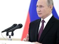 Сегодня в 16:00 по местному времени начнется трансляция послания Владимира Путина Федеральному Собранию