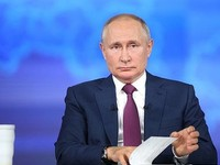 Президент Владимир Путин ушел на самоизоляцию