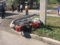 Смертельный поворот: бийский мотоциклист разбился насмерть