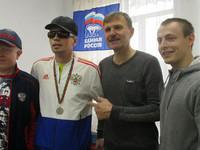 В Бийске состоялся турнир по настольному теннису для незрячих