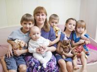 В крае растет число многодетных семей, получающих выплату на подготовку детей к школе