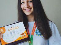 Бийчанка стала призером соревнований «Дети Азии»