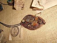 Дерево, медь и камни: в Бийске открылась выставка-продажа двух уникальных мастеров края