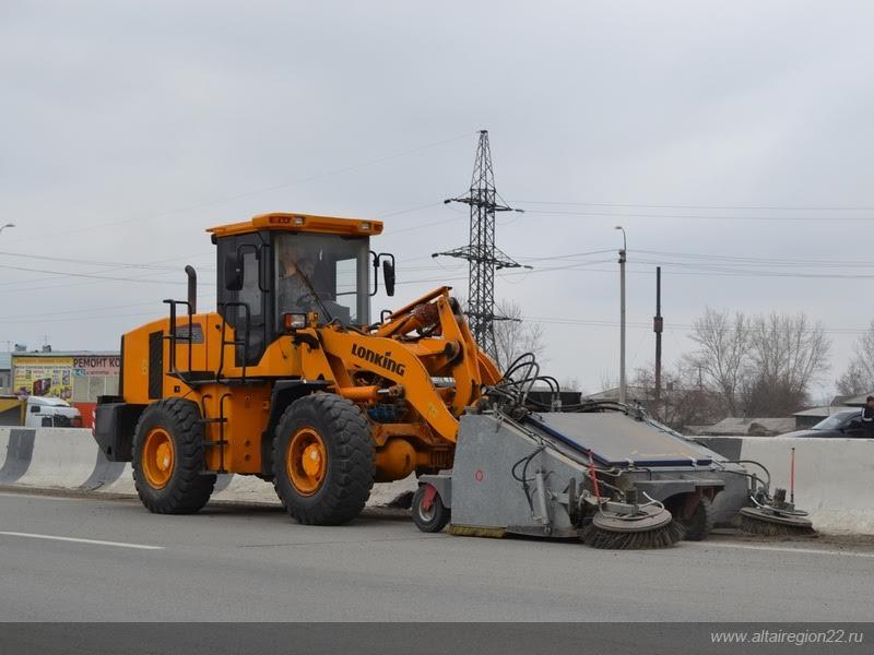 Началась активная подготовка федеральных дорог к летнему периоду